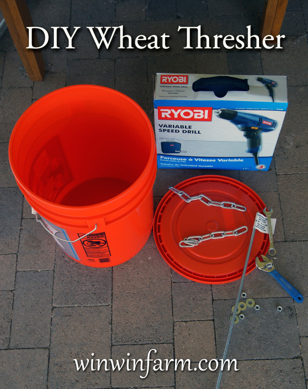 Diy Bucket Thresher For Backyard Wheat Growers